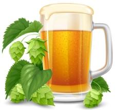 饮料啤酒杯素材