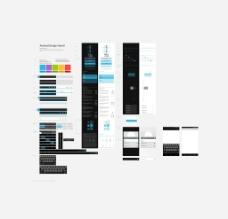 网页模板设计图片