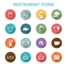 厨师餐厅小图标图片