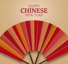 中国风扇子矢量素材图片
