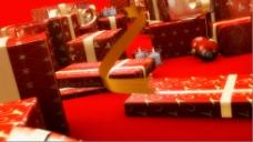 圣诞节动态场景设计视频素材