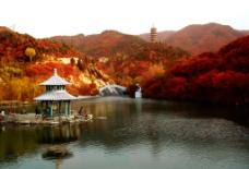 蛟河红叶谷图片