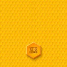 黄色蜂窝形图片