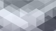 灰色酷炫 晶格化 抽象几何体海报背景