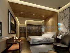 高档酒店客房模板