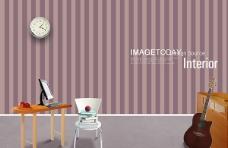 室内家具素材背景PSD分层
