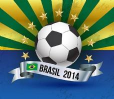 巴西世界杯怀旧海报