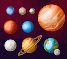 太空里的星球