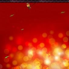 喜庆红色主图背景
