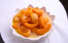 蜜汁黄桃图片