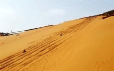 沙坡头滑沙