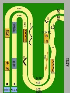越野挑战赛车道图片