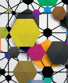 彩色几何图形图片
