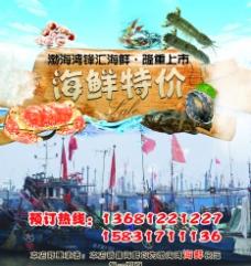 海鲜特价海报图片