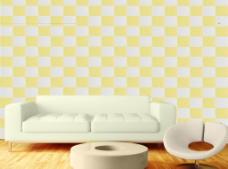 爱尚石沙发背景墙