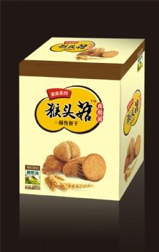 猴头菇饼干包装