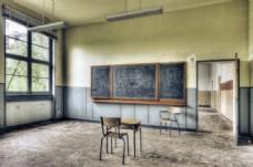 废弃的教室