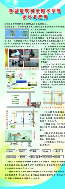 新型建筑同層排水系統圖片