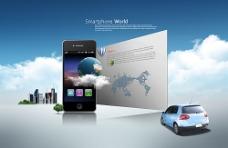 创意手机海报