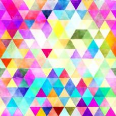 各种颜色三角形素材下载EPS