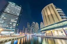 繁华都市夜景
