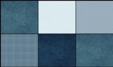 5款复古蓝色针织纹理填充图案