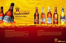 百威啤酒宣传海报