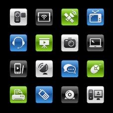 16个数码产品图标矢量素材