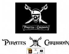 加勒比海盗旗图片