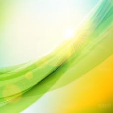 炫彩光效背景矢量素材