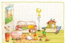 快乐儿童 卡通漫画 韩式风格 分层 PSD_0112