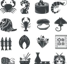 海鲜图标图片