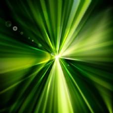 闪亮的绿色背景
