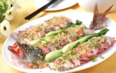 港式蒜香鱼图片