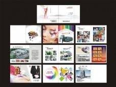 彩印厂画册设计矢量素材