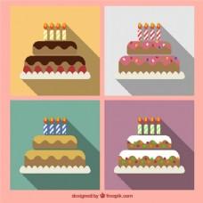 各种生日蛋糕