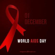 十二月世界艾滋病日背景