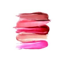 化妆品元素 粉笔 BB霜 唇彩