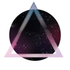 星空几何背景