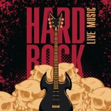 摇滚音乐节海报设计图片