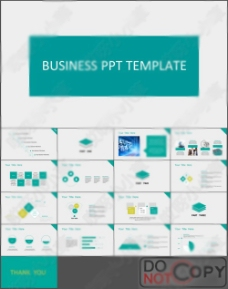 商务企业模板035
