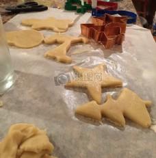 制作饼干的过程