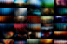 30款绚丽竖纹全屏海报背景图片素材