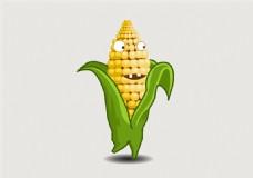 可爱的玉米小人flash动画