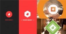 简洁设计logo演绎动画AE模板