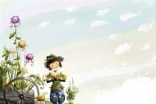快乐儿童 卡通漫画 韩式风格 分层 PSD_0120