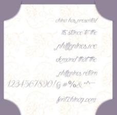 英文高大上的字体,时钟字体图片