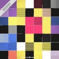 现代彩色平板背景