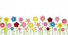矢量夏天花朵
