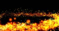 火焰粒子片头素材